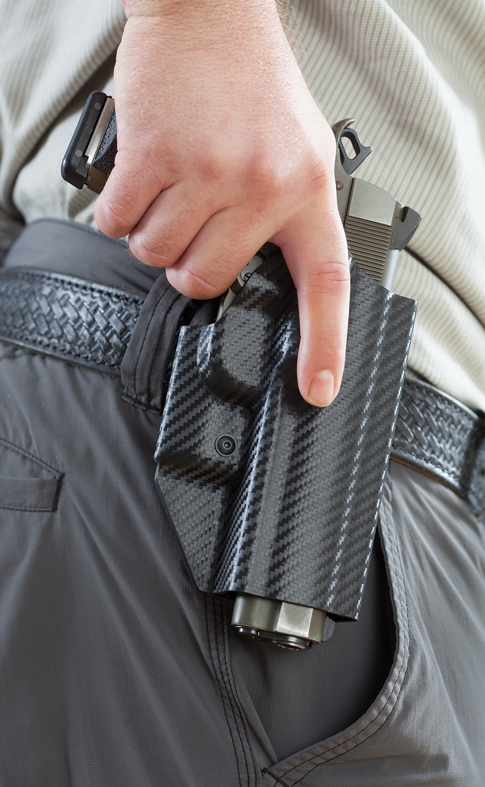 Hogue Retention Holster for M1911