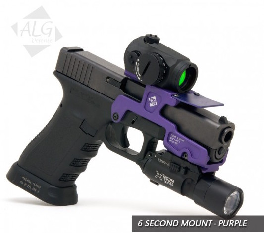 Review: ALG Defense 6-Second Optic Mount for Glocks