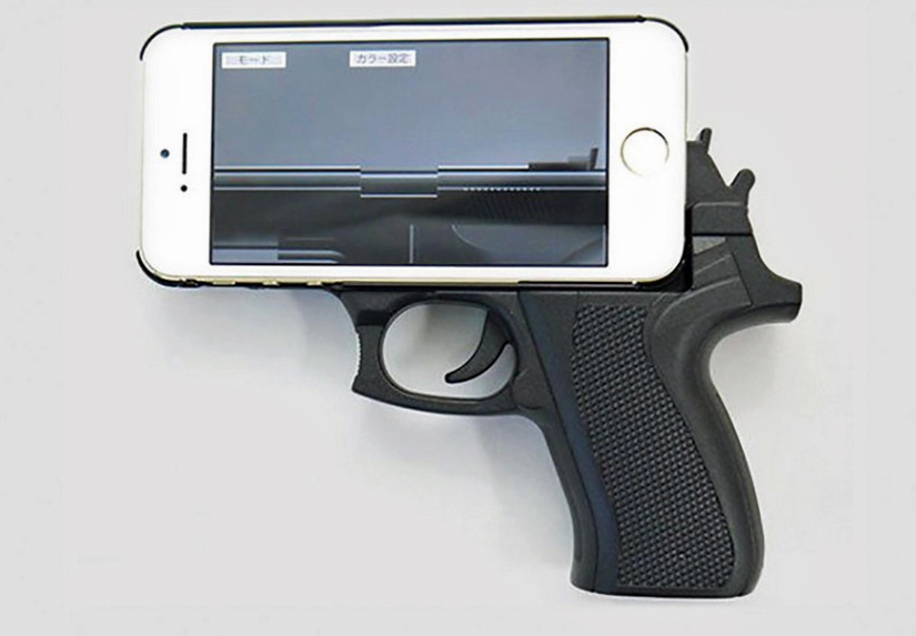 Gun-Shaped Cell Phone Cases Now Illegal in Indianapolis