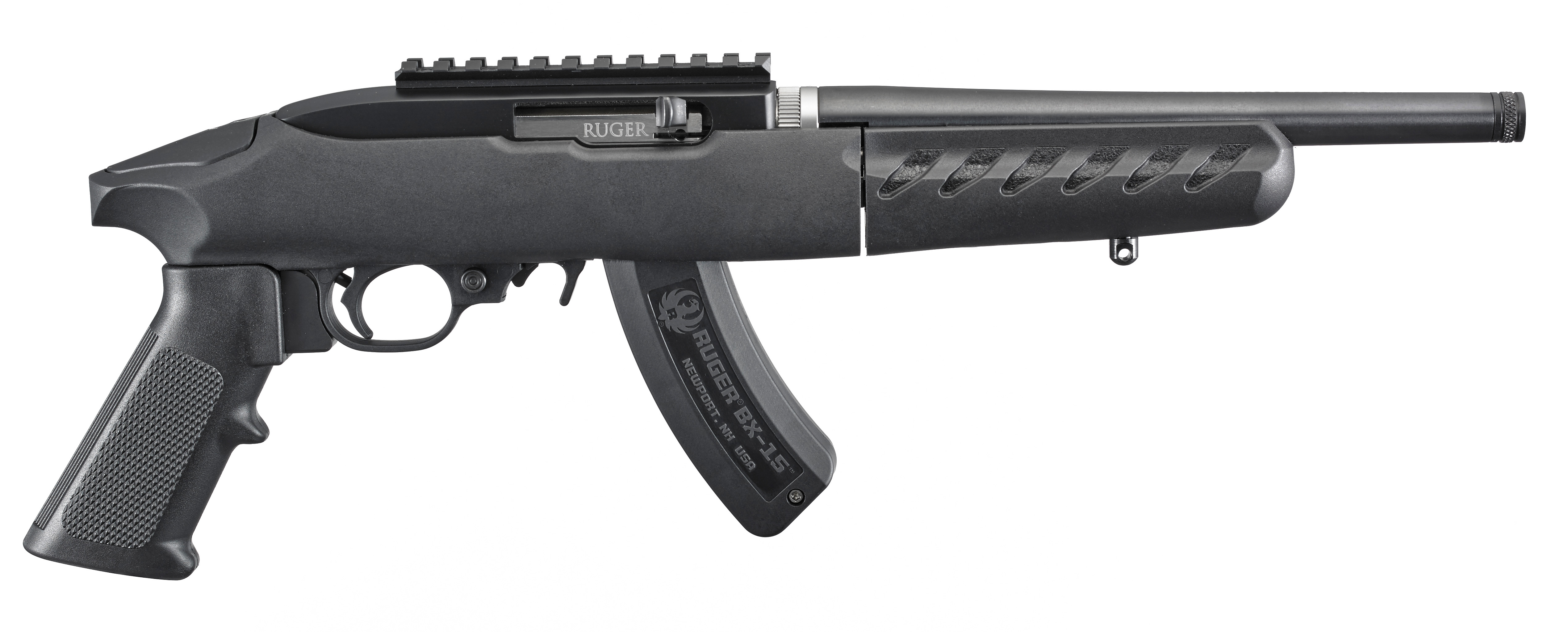 Ruger Charger Takedown Model 22 LR Pistol With BX-15 15-Round Magazine
