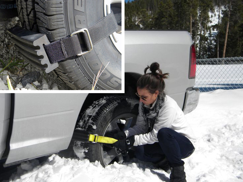How to Get Un-Stuck by Yourself with Trac-Grabbers.
