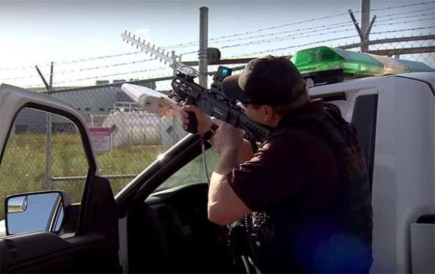 DroneDefender: New Rifle that Shoots Drones Out of the Sky Without Firing a Single Bullet