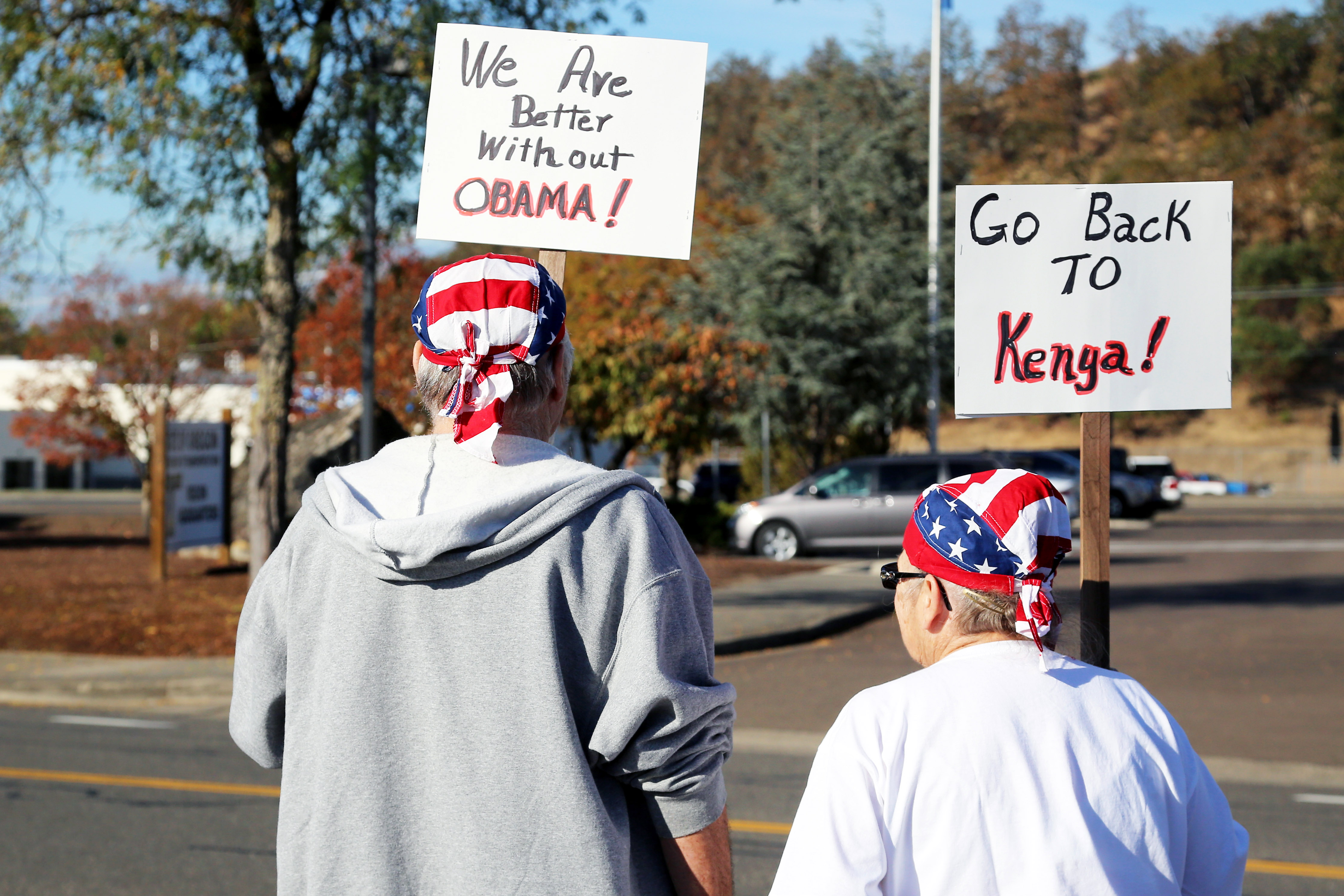 Obama's Oregon Welcome – Not