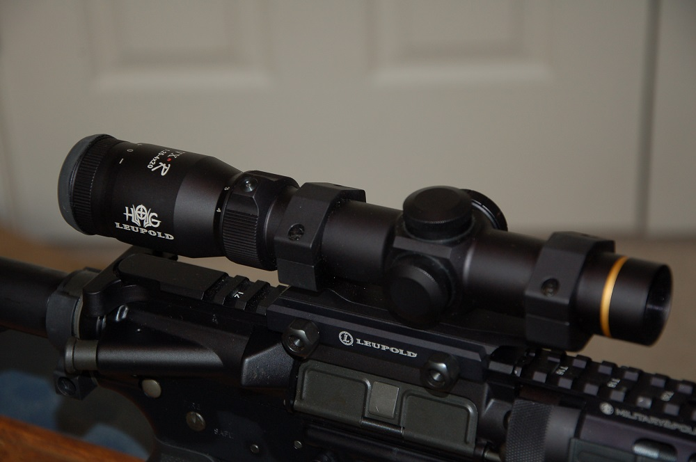 AR Scope Mount Systems