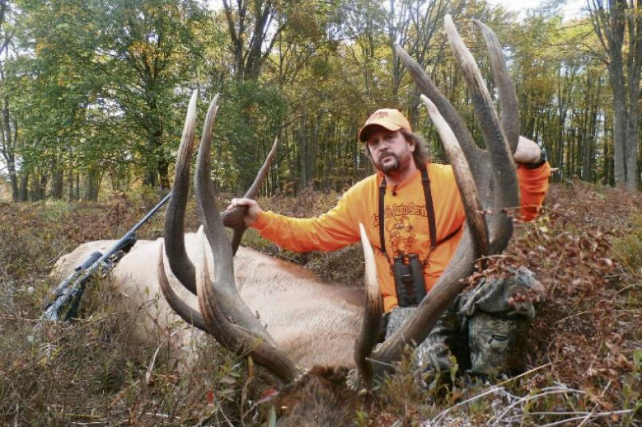$100 Worth of Raffle Tickets Wins PA Hunter a Record Elk