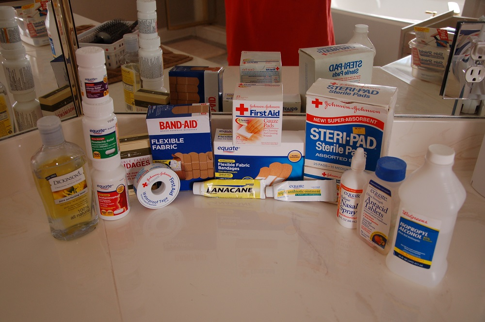 Assemble Your Own Store Bought First Aid Kit