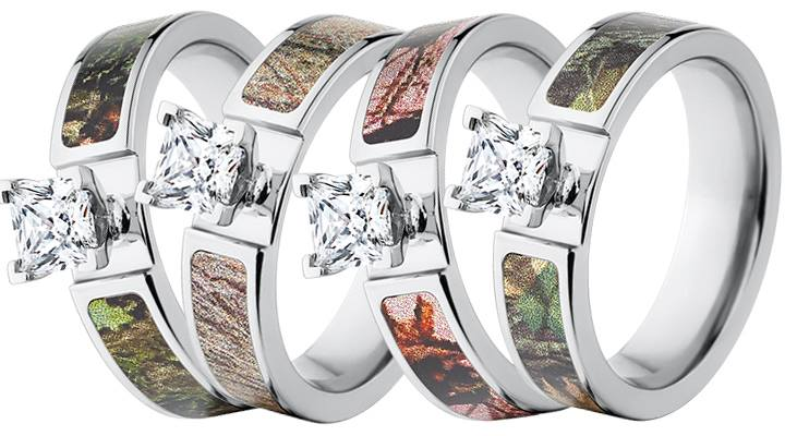 Mossy Oak engagement rings