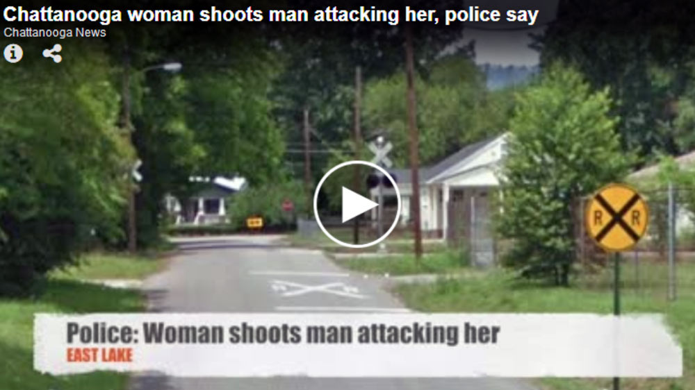 Woman Uses Gun to End Assault