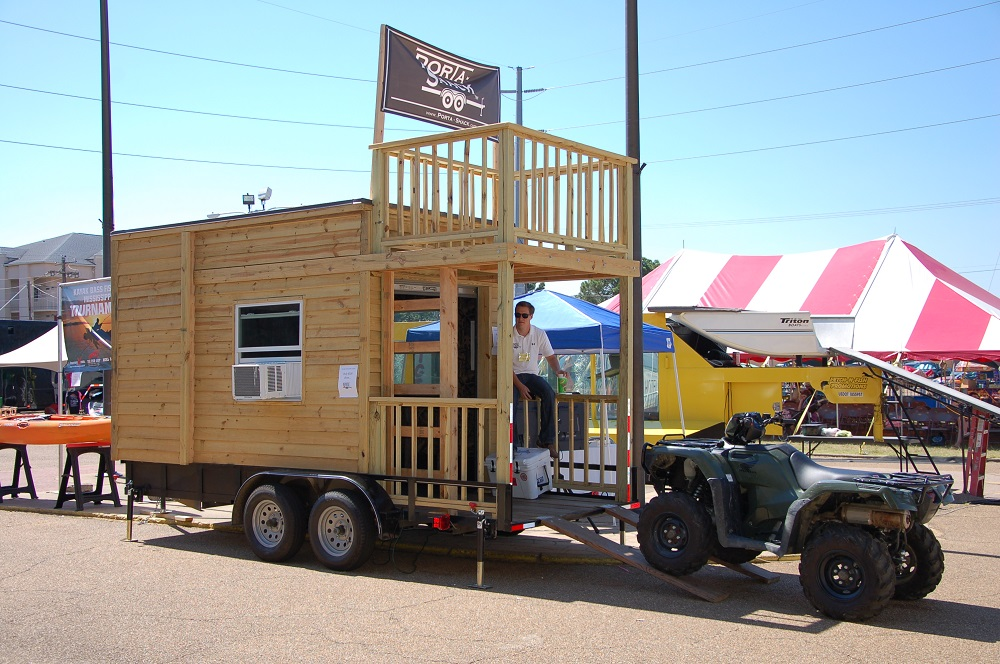 Porta-Shack Makes Prepper Haven