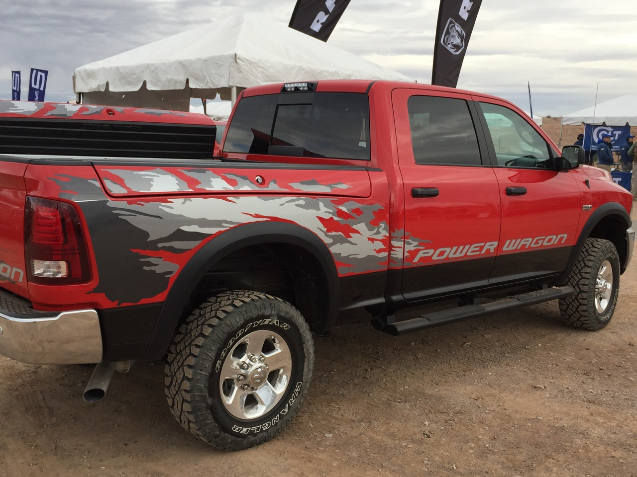 SHOT 2016 Range Day: Ram's 2016 Power Wagon is a Gun Case Shaped Like a Truck