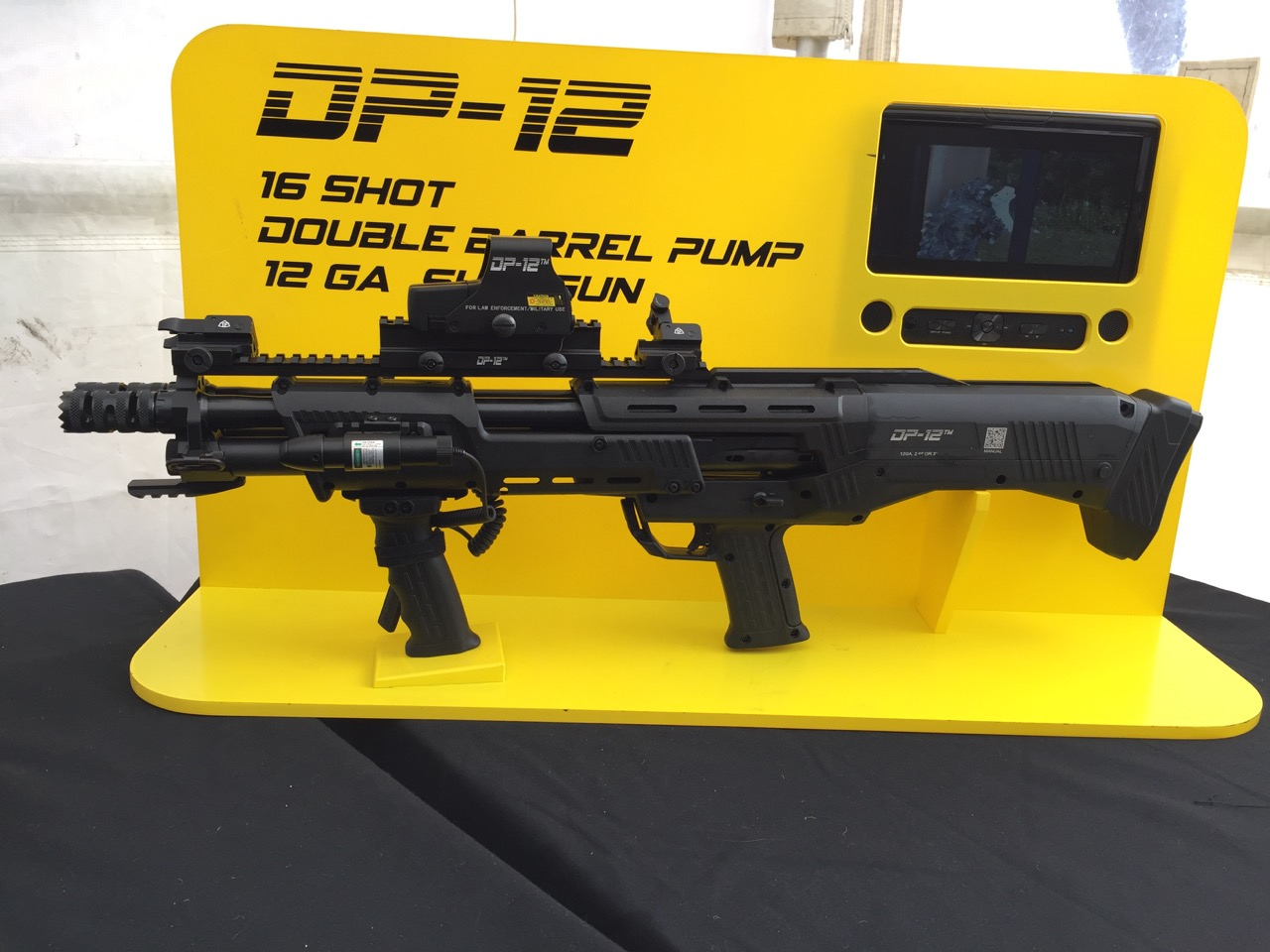 SHOT 2016 Range Day: Hands-on With the DP-12 Bullpup Shotgun