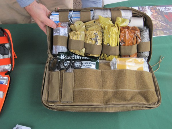 Trauma Kits from TMS Outdoors at the 2016 SHOT Show