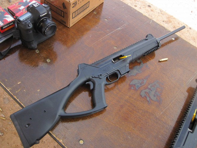 The Return of the Caracal CC10 9mm Carbine at the 2016 SHOT