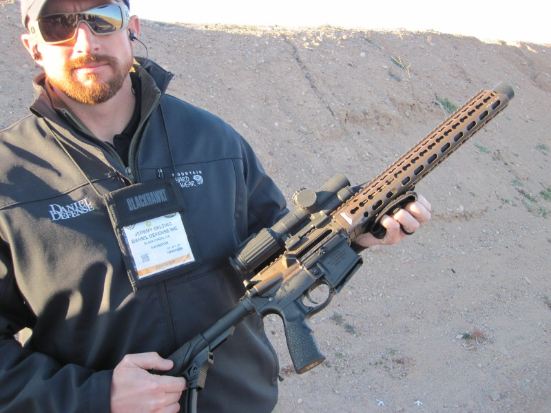 Daniel Defense New ISR for 2016 at SHOT Show Industry Range Day