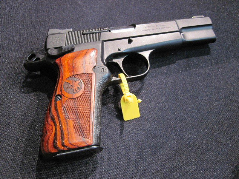 Nighthawk Custom Browning High Power at the 2016 SHOT Show