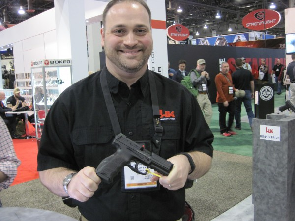 New VP40 and P30SK Pistols From HK at the 2016 SHOT Show