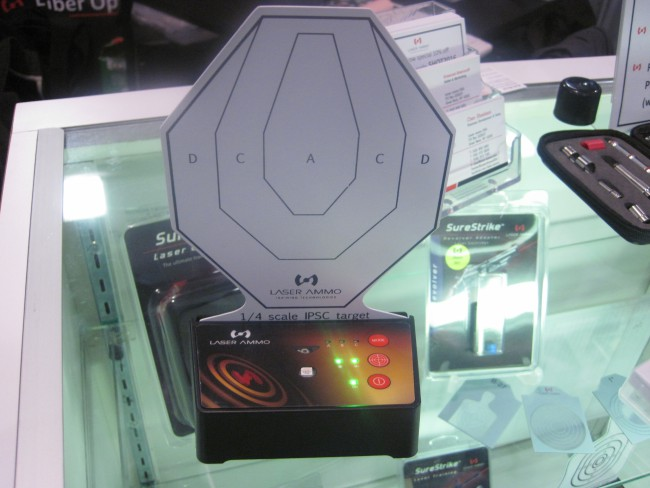 Laser Ammo Interactive Multi Target Training System at 2016 SHOT Show