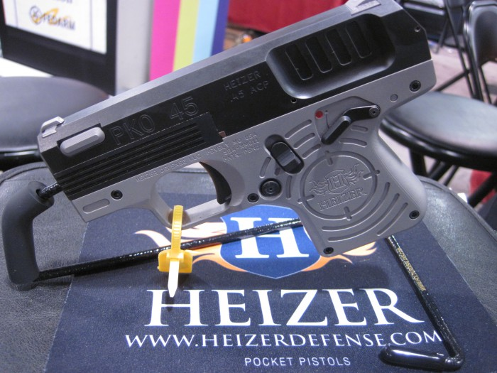 "The Heizer Defense PKO-45 May Be the ""Thinnest .45 Ever"""