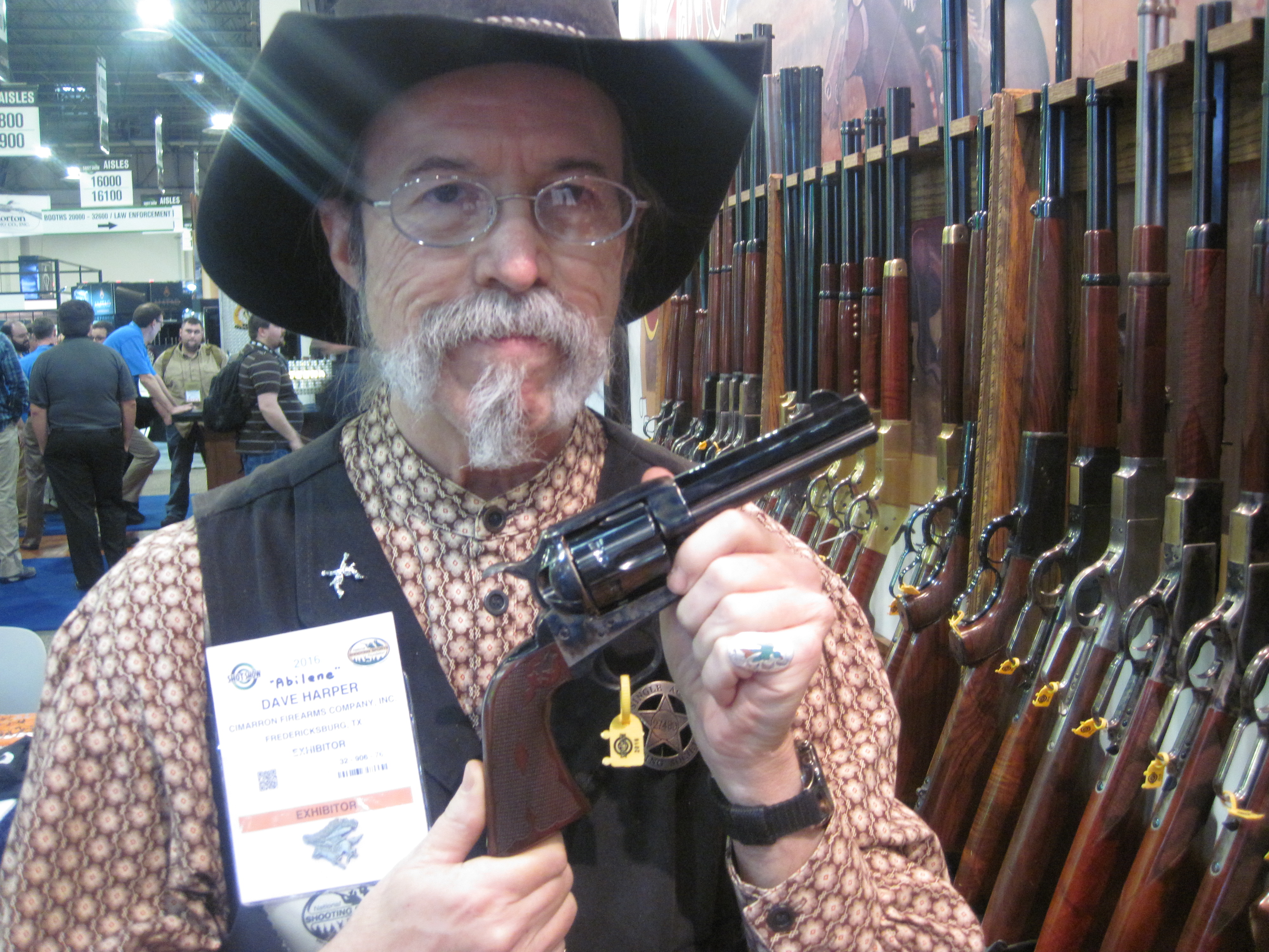 Cowboy Firearms from Cimarron at the 2016 SHOT Show