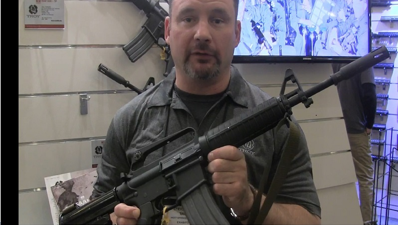 "Troy Defense GAU-5/A/A ""Son Tay Raider"" Limited Edition Carbine at 2016 SHOT Show"