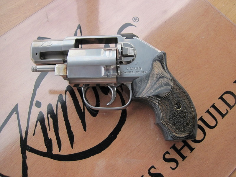 A First Look at Kimber's K6S Revolver at  2016 SHOT Show Range Day