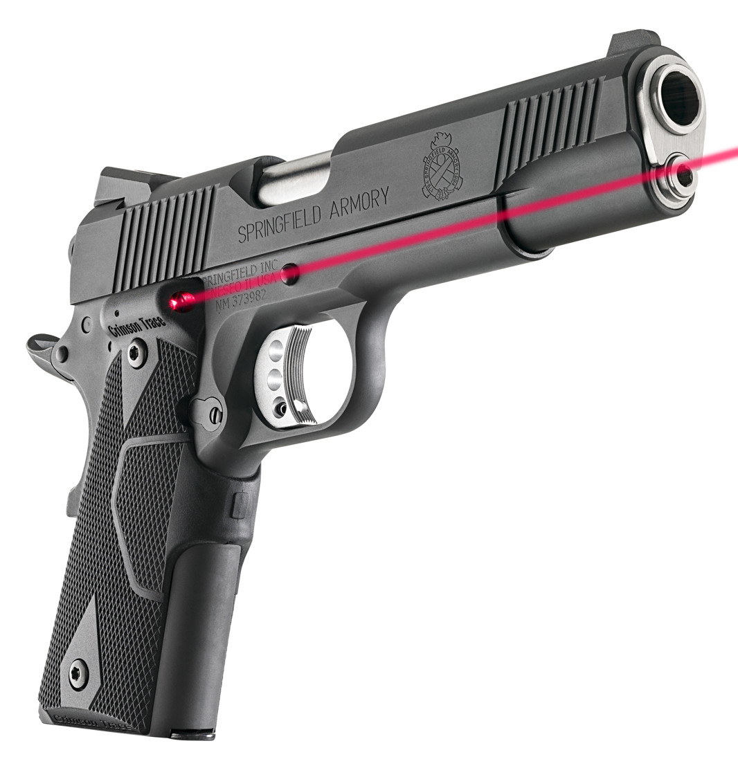 Press Release: Springfield Armory Loaded 1911 With Crimson Trace Grips