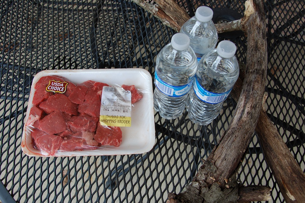 Wood, Water, and Meat
