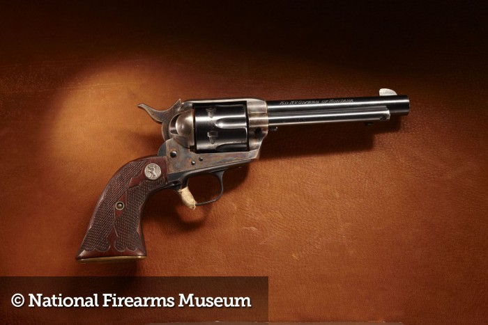 Ed McGivern's Revolvers from the NRA Museum at the 2016 SHOT Show