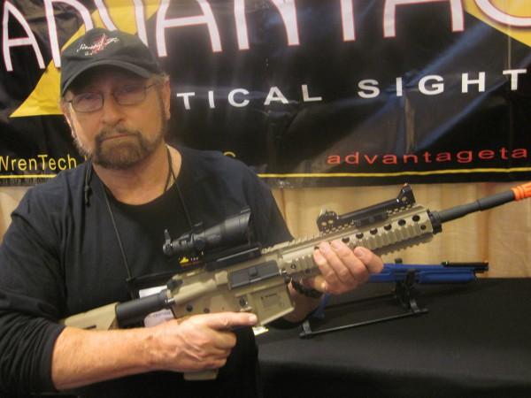 Advantage Tactical Sight COSUB Sight at the 2016 SHOT Show