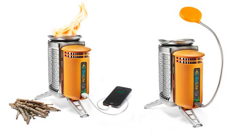 Burn Wood to Charge Your Phone – and Cook Breakfast (Videos)