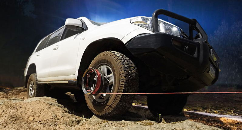 This Winch Is Powered By Your Vehicle S Wheels Video