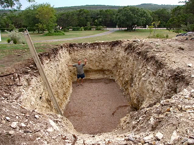 Turning a Hole Into a Prefab Bunker (Video)