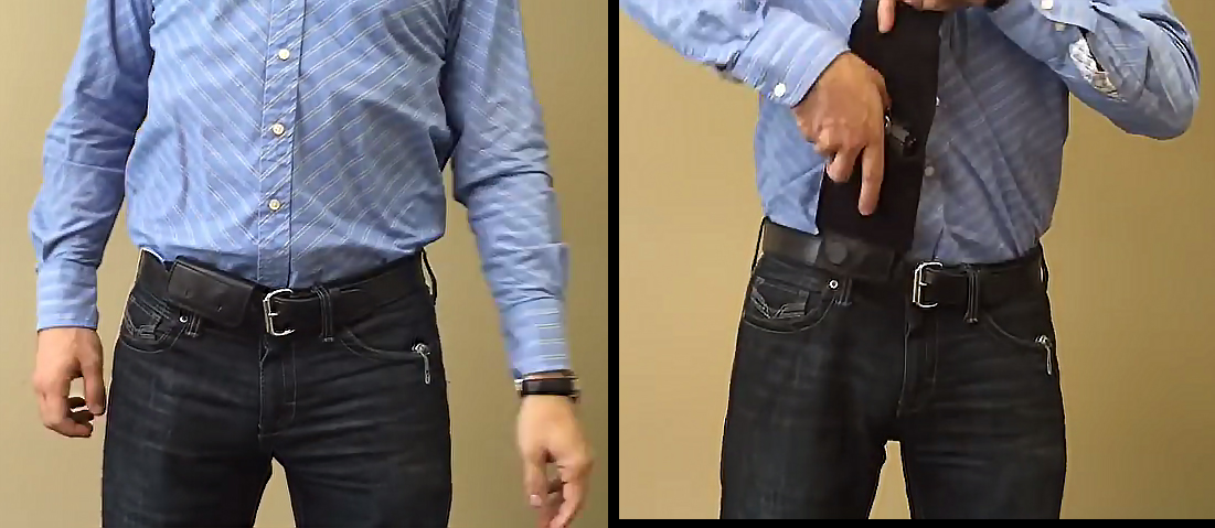 """The Urban Carry """"Total Concealment Holster"""" (Video)"""