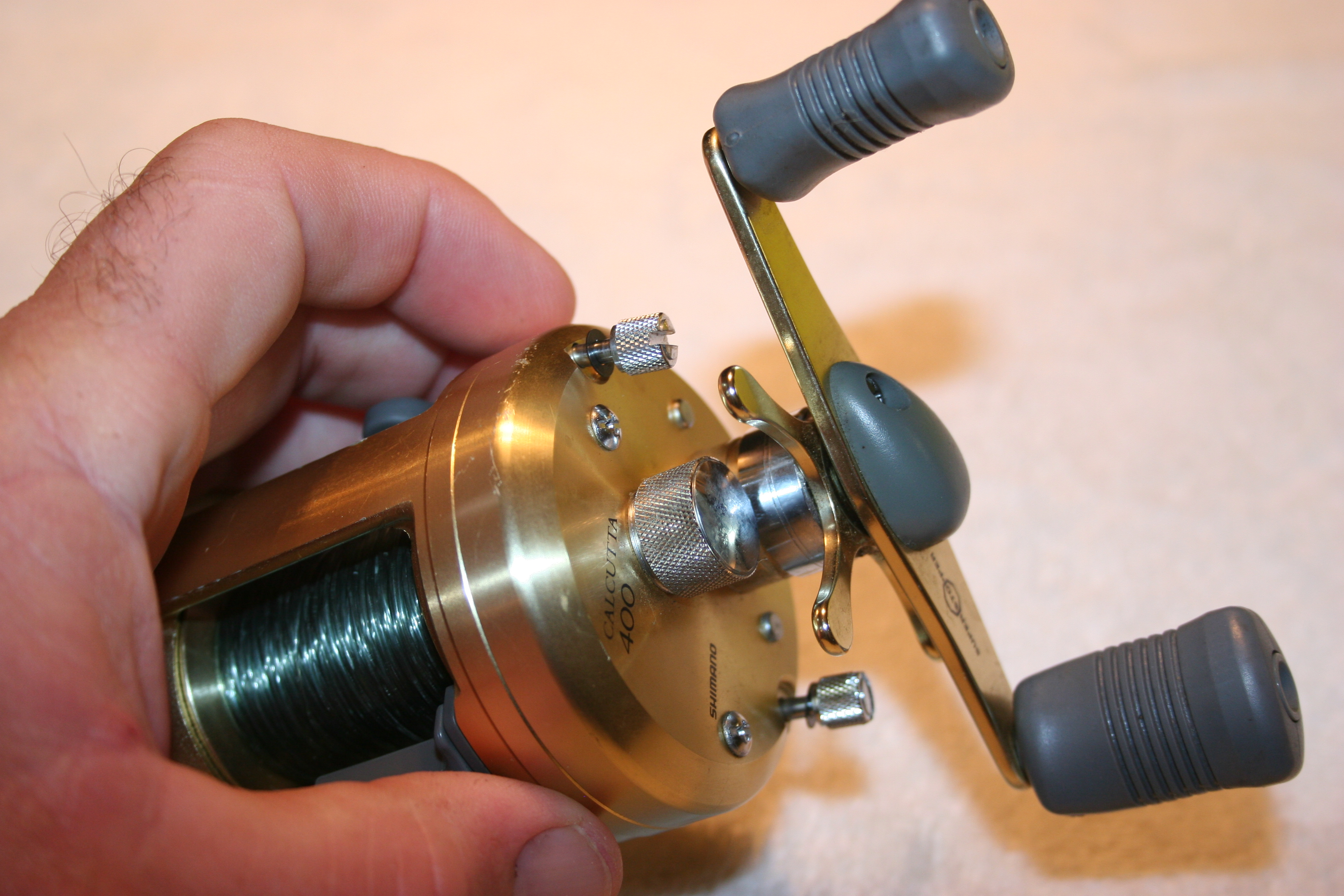 Cleaning a Baitcasting Reel