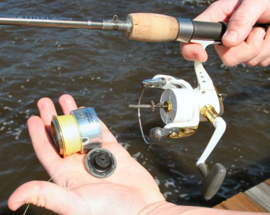 Bailing Out A Common Spinning Reel Problem - AllOutdoor com