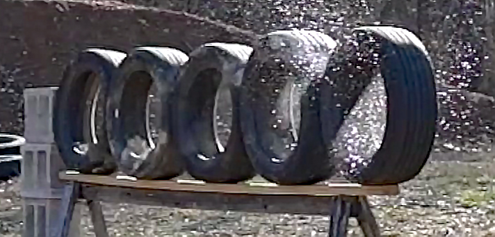 Video: How Many Car Tires Will a 500 S&W Penetrate?