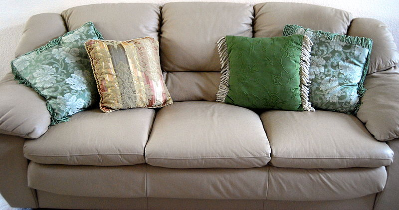 Bullet Proof, Hand Crafted… Sofa