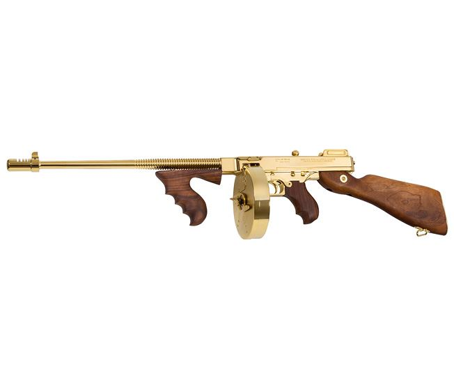 Relics of Ancient Chiraq: The Gold-Plated Tommy Gun
