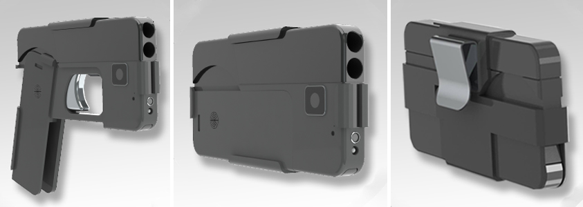 "Ideal Conceal ""Cell Phone Pistol"" Due Out in May or June 2017"