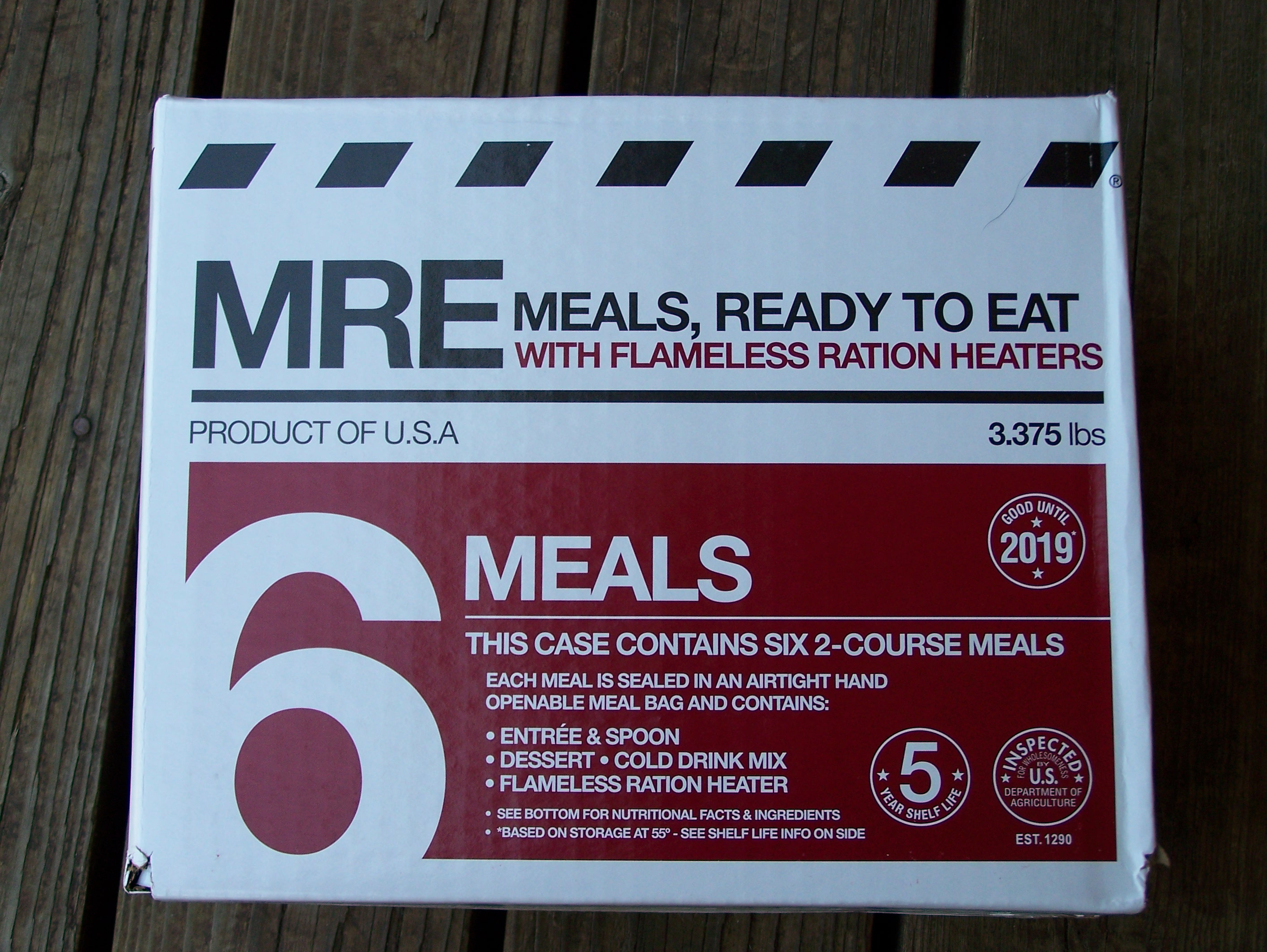 Review: Meal Kit Supply's 2-Course MRE Six-Pack