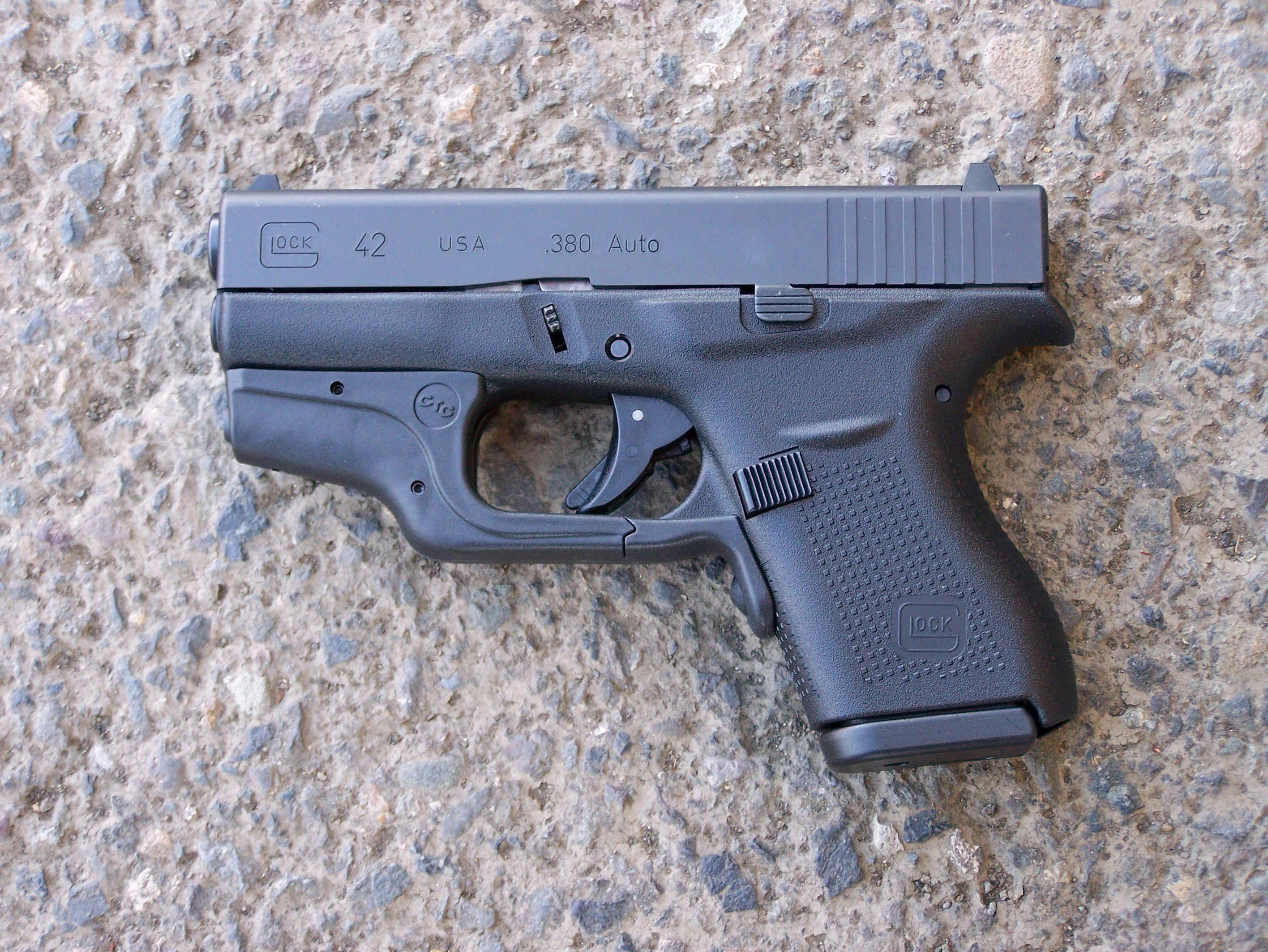 Review: Glock's Model 42 and Crimson Trace's LG-443
