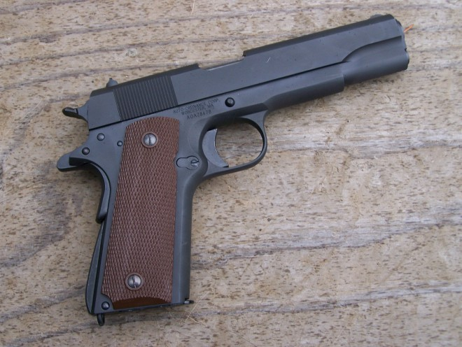 "ab301547f822 When I received a press release on the Auto Ordnance 1911 BKO model  (advertised as a ""mil-spec"" 1911)"