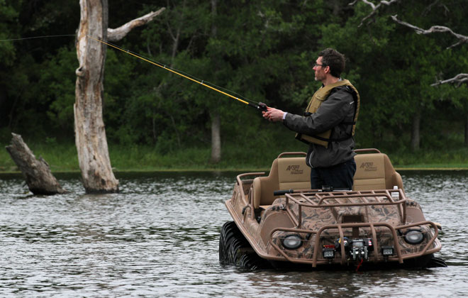 2016 Argo Outfitter 8x8 Fishing