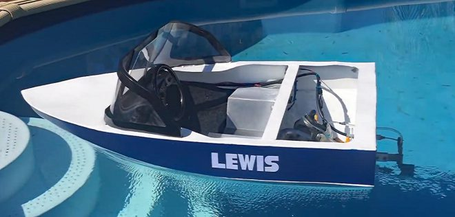 Image Result For Mini Ski Boat Build Petrol Powered For Sale