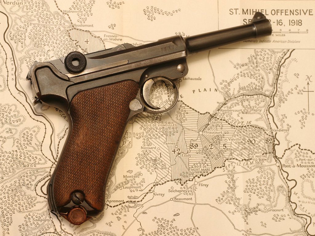 Retro Carry Option: The Luger P08 with Modern Ammunition