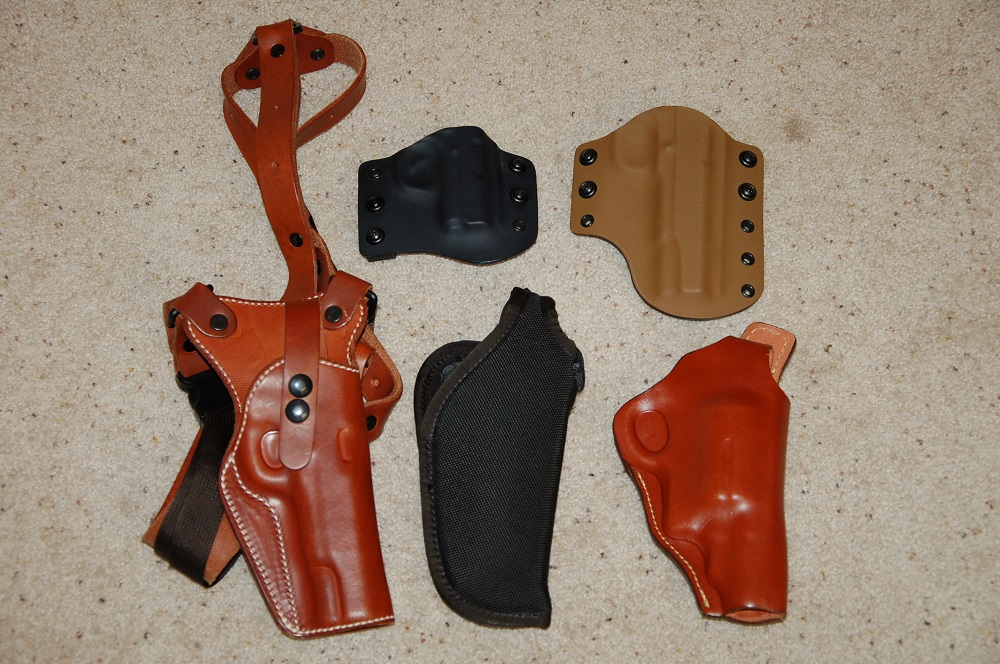 Handgun Holster Choices