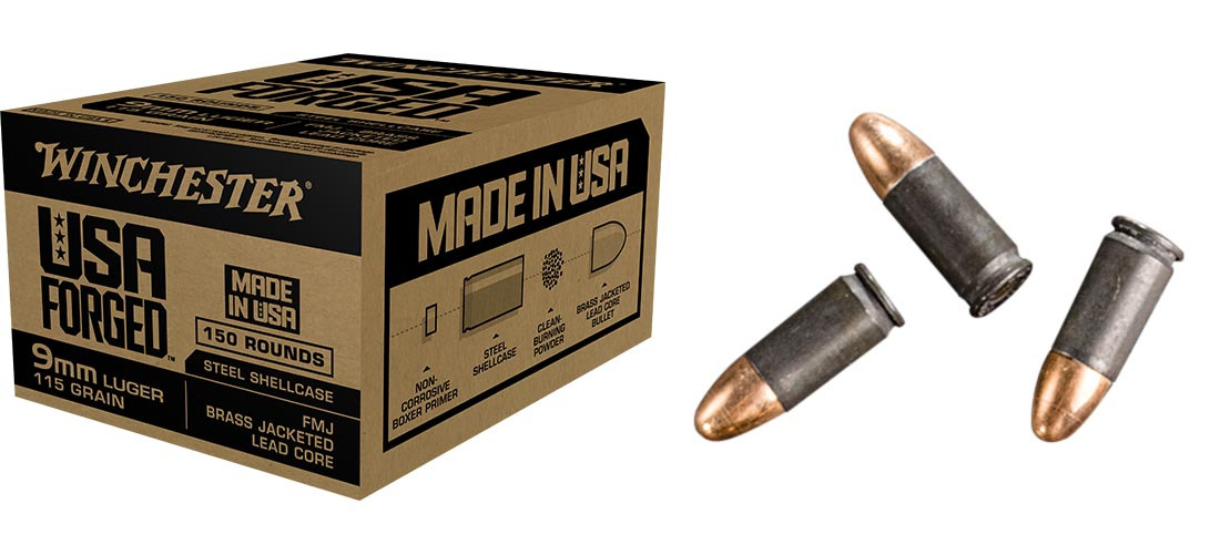 Steel-Case Ammo Made in USA: Winchester's USA Forged