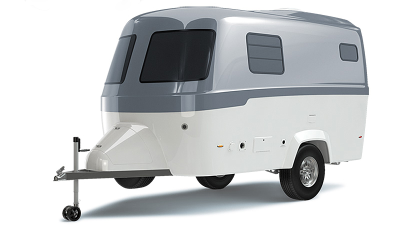 Airstream's New High-End Fiberglass Travel Trailer
