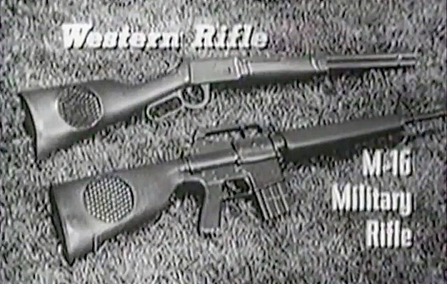 "Watch: Commercial for Marx ""Sound-O-Power"" Toy Guns"