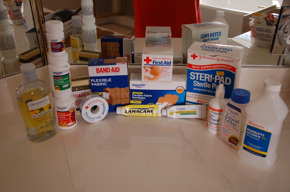 Build a Prepper's OTC Med BOB